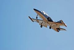 39c航空特技飞行albatros l小组发球区域zu 免版税图库摄影