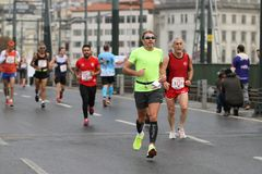 39th Istanbul Marathon Royalty Free Stock Photo