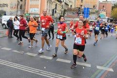 39th Istanbul Marathon Royalty Free Stock Image