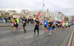 39th Istanbul Marathon Stock Photos