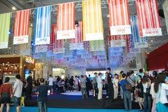 A 39th mola dos bens imobiliários justa em Chengdu Foto de Stock Royalty Free