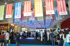 The 39th Real Estate Spring Fair in Chengdu Royalty Free Stock Photo