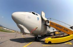 3a aicraft航空awacs e fest北约斯洛伐克 免版税库存照片
