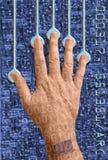 3a cyberhand 免版税图库摄影