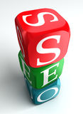 3d专业术语seo 免版税库存照片