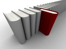 3d书 库存例证
