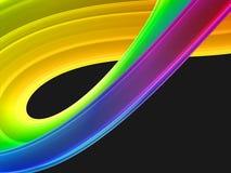 3d五颜六色抽象的背景 免版税库存图片