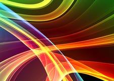 3d五颜六色抽象的背景 向量例证