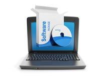 3d例证: 软件。 库存照片
