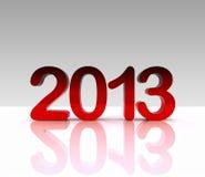 3d例证- 2013年 免版税图库摄影
