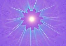 3d光亮的星形 免版税库存照片