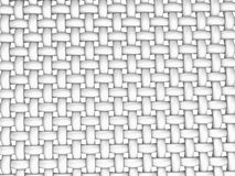 3D回报了交错的纤维的例证 免版税库存图片