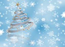 3d圣诞树 库存图片