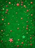 3d圣诞节星形 库存图片