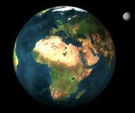 3d地球plantet 免版税库存图片
