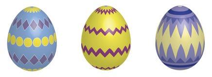 3d复活节彩蛋 库存照片