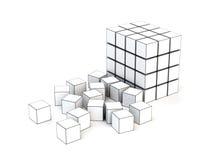 3d多维数据集 免版税库存图片