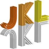 3d字体 免版税图库摄影