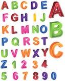 3d字母表 免版税库存照片