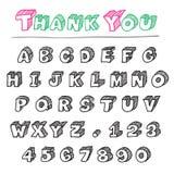 3d字母表 图库摄影