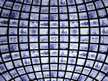 3d屏幕 免版税图库摄影