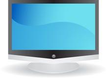 3d平面屏幕电视 库存照片