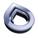 3d徽标 免版税库存照片