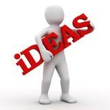 3d想法登记人员 免版税图库摄影