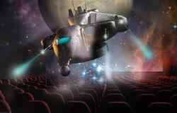 3d戏院 向量例证