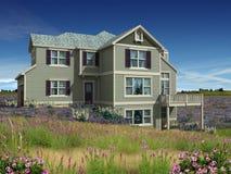 3d房子级别设计二 免版税库存照片