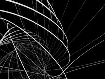 3d抽象墙纸 库存例证
