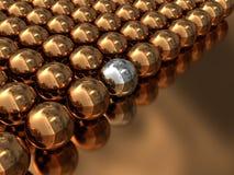 3d抽象球 向量例证