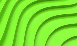 3d抽象绿色 皇族释放例证