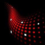 3d抽象背景动态红色 皇族释放例证