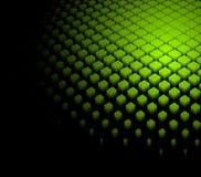 3d抽象背景动态绿色 免版税图库摄影