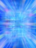 3d抽象背景蓝色未来派 库存例证