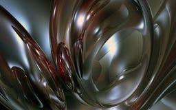 3d抽象背景黑色蓝色深红回报 库存图片