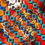 3d抽象背景 图库摄影