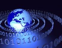 3d数字式世界 免版税库存照片