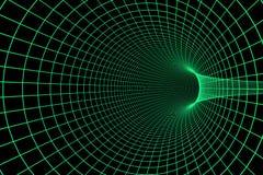 3d数字式隧道 免版税库存图片