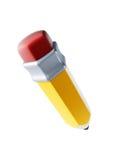 3d查出的铅笔 免版税库存照片