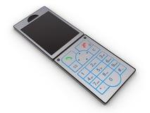 3d概念移动电话 图库摄影