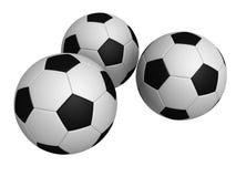 3d橄榄球 免版税库存照片