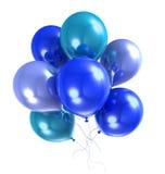 3d气球颜色氦气 皇族释放例证