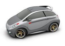 3d汽车构思设计 向量例证