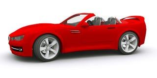 3d汽车概念回报了体育运动 免版税图库摄影
