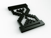 3d游标滴漏鼠标 库存例证