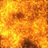 3d火山明亮的熔岩的纹理 皇族释放例证