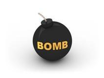 3d炸弹 库存照片