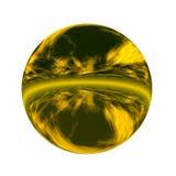 3d球状的按钮 免版税库存照片